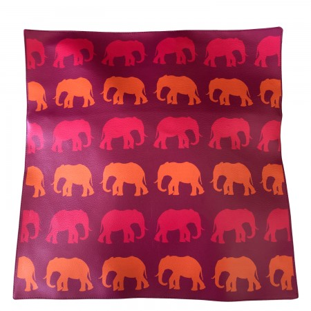 Elephant Leather Cushion