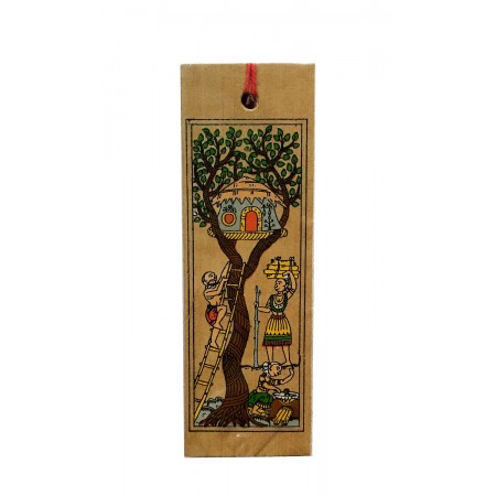 Tree House Book Mark
