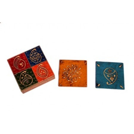 Coaster Set (with lid)
