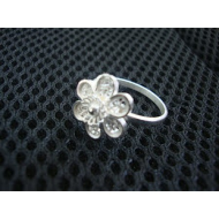 Flower Filigree Ring