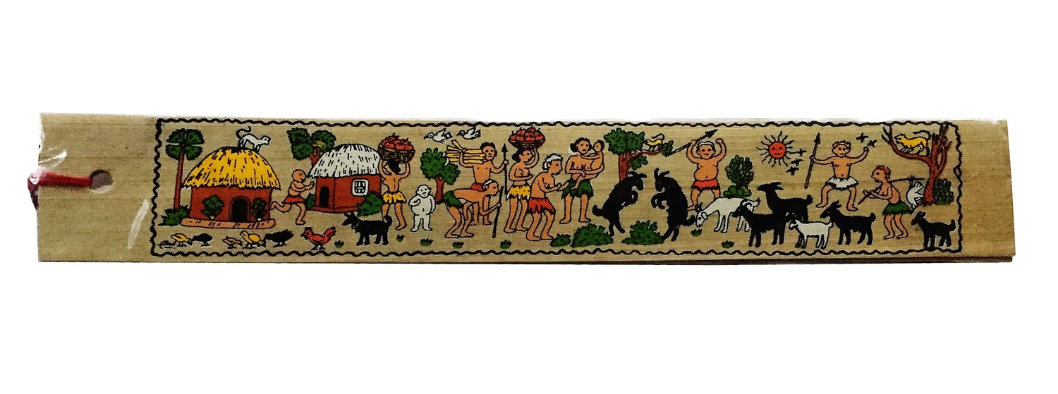 Village Life Book Mark