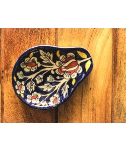 Mughal Midnight Blue Spoon Rest