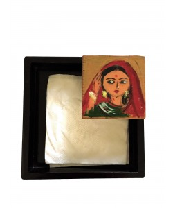 Graceful Woman Napkin Holder