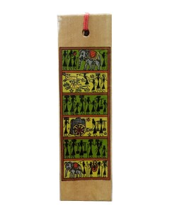 Hunting Scene Book Mark