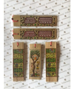 SET OF 5: Small Book Marks