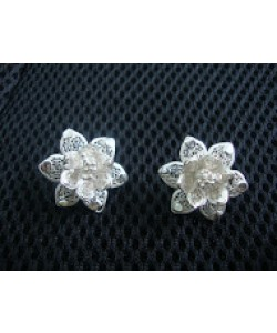 Flower Filigree Earrings