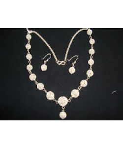Filigree Balls Necklace Set