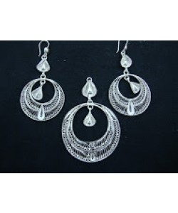 Filigree Pendant Set