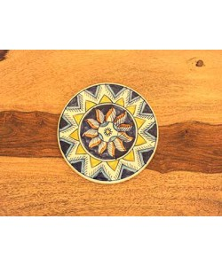 Turkish Blue Design Trivet