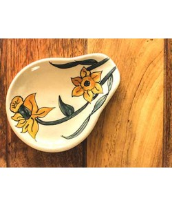 Daffodil Yellow Spoon Rest