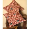 Orange Batik Cushion Cover