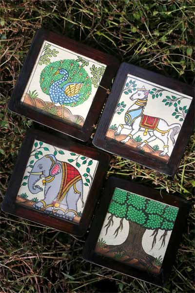 Pattachitra_Coasters